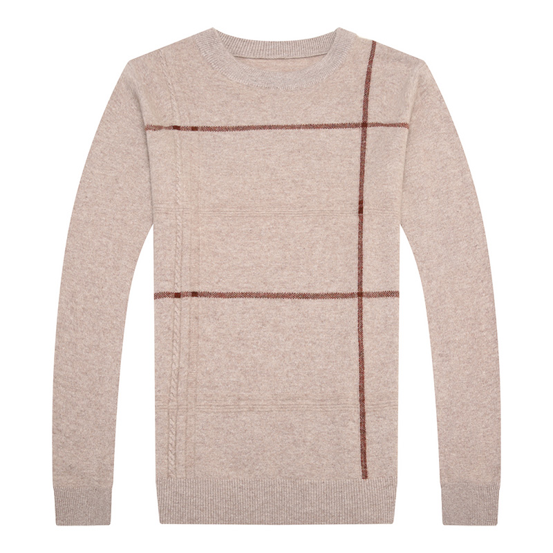UCAK Brand Sweater Men 2020 New Arrival Pure Merino Wool O-Neck Striped Casual Fashion Style Spring Pullover Homme Sweater U3158