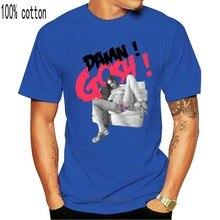Men T Shirt Shirt style justice gosh damn! sasha gray with white tshirts Women T-Shirt