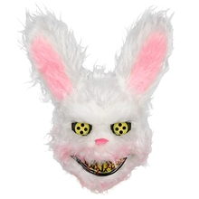 Halloween Horror Mask Plush Unique Rabbit Panda Wolf Bear Festive Party Supplies