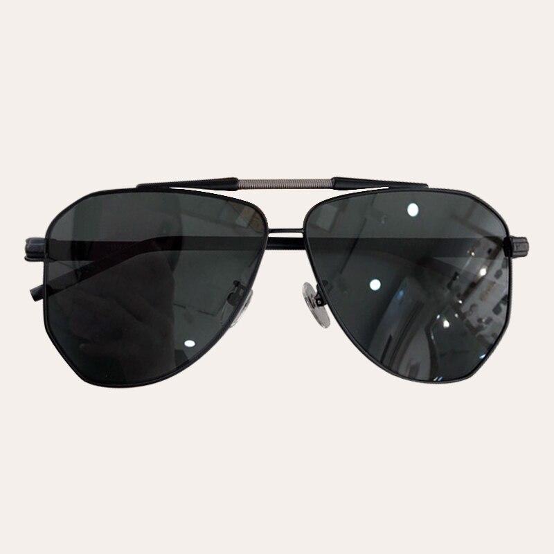 Oversize Pilot Sunglasses Men UV400 Retro Brand Designer Big Frame Sun Glasses For Female