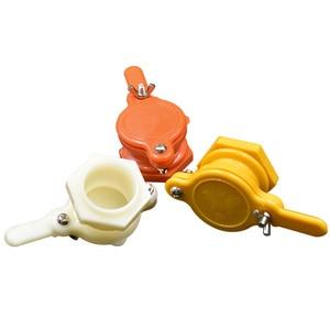 Image 2 - Brand Three Color Honey Gate Beekeeping Tool Suitable for honey bee faucet gate valve beekeeping Honey extractor door Honey Tool