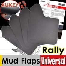 Deporte Rally Universal guardabarros delantero y trasero para coche camioneta SUV camión guardabarros Splash guardias guardabarros sucio trampas Fender bengalas