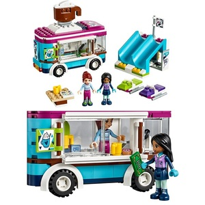 Image 4 - Lepining  Friends set Girl Series Toys Dolphin Cruiser Competible 41015 Model Building Blocks Bricks Educational Kids Toys Gifts