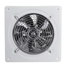 Горячая 4 дюймов 20 Вт 220 В высокоскоростной вытяжной вентилятор для туалета, кухни, ванной комнаты, Подвесной Настенный оконный стеклянный небольшой вентилятор, вытяжка