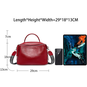 Image 5 - Zency Crocodile Pattern Women Tote Handbag Made Of Genuine Leather Daily Casual Crossbody Shoulder Bag For Lady Black Grey