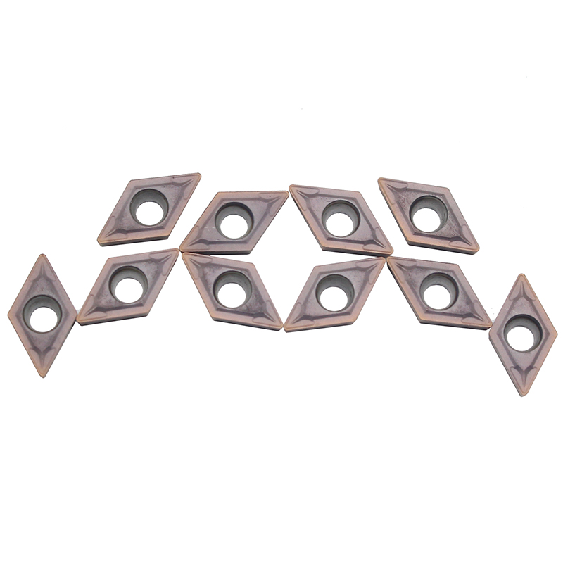 <font><b>10</b></font> pcs <font><b>DCMT070204</b></font> VP15TF Internal Turning Tools Carbide inserts Cutting Tool CNC Lathe tools cutter image