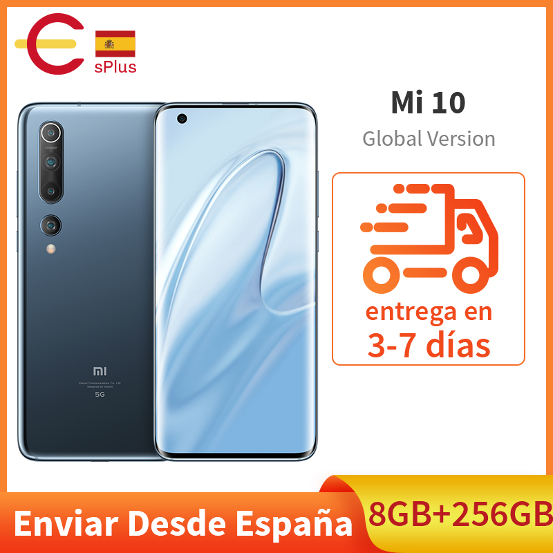 Globale Versione Xiaomi Mi 10 Snapdragon 865 8GB 256GB SA/NSA 5G Smartphone WiFi 6 LPDDR5 UFS 3.0 108MP ProCamera 8K Video 1