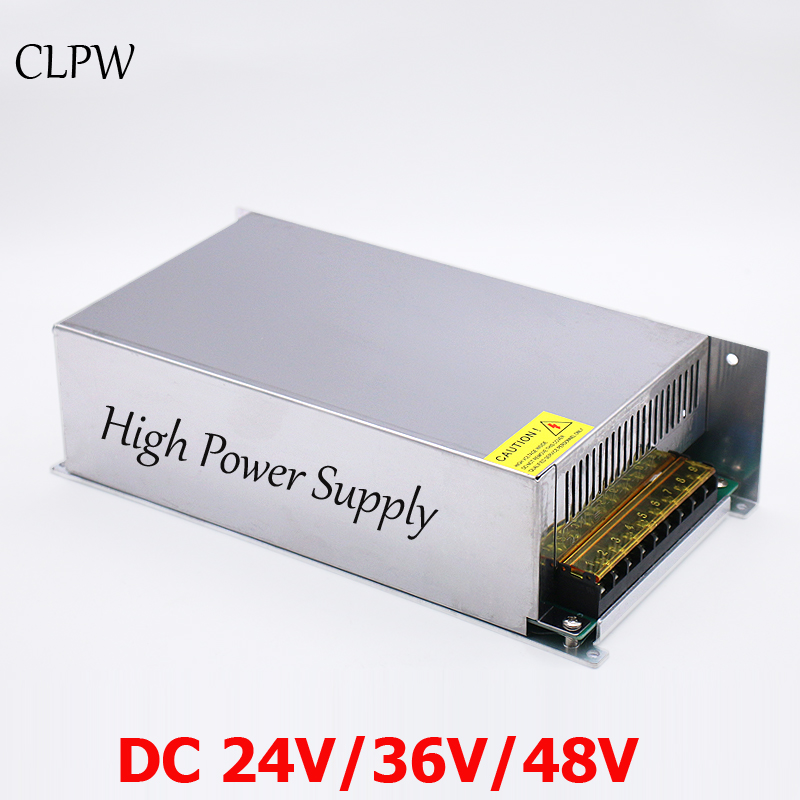 Regulated switching power supply DC 900w 15v 24V 36V 48V 60V 70V 80V 90V 100v 110v 120v  single output CNC machine SMPS AC-DC