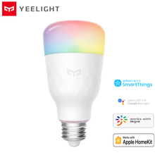 Originale Yeelight 1S YLDP13YL Intelligente HA CONDOTTO LA Lampadina Colorata 800 Lumen 8.5W E27 Limone Lampada Intelligente Per Mi Casa app Bianco/RGB