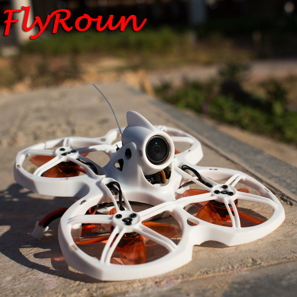 Emax Tinyhawk II 75mm F4 Magnum Mini 5.8G Indoor FPV Racing Drone With Camera RC Drone 2S RTF Version With 2 Pair Props For Gift