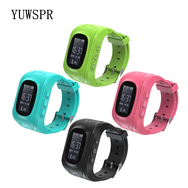 Kids GPS Watch Children Tracker GPS Positioning Anti Lost SOS IOS & Android SIM Phone Watch Baby Smart Clock Q50 1pcs