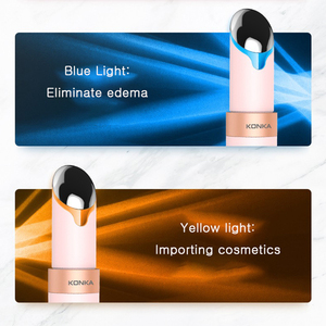 Image 4 - KONKA Hot Eye Massager Four modles massager Anti Wrinkle USB charging Adjustable temperature Best Gift Eye Care Tools