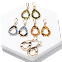 New Korean Style Earrings Female Charm Temperament Hoop Bride Wedding Party Pendientes Jewelry