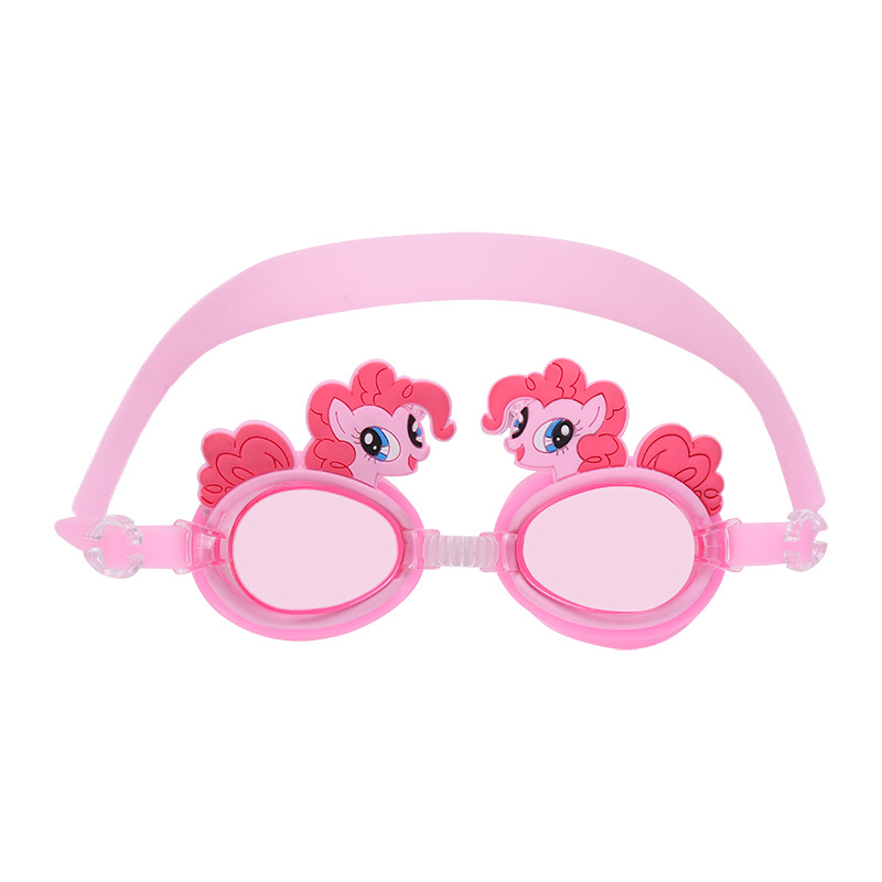 Unicorn Cute Waterproof Anti-fog CHILDREN'S Swimming Goggles Learn Swimming Glasses Cartoon Jing With Adjustable