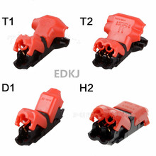 цена на 5pcs Spring Connector wire with no welding no screws Quick Connector cable clamp Terminal Block Easy Fit for led strip