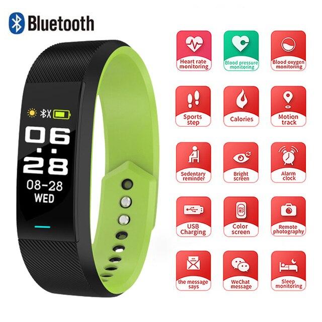 SKMEI Smart Bracelet Watch Sport Fitness Women Men Smart Wristbands Watch Bluetooth Single Touch reloj B25 For Android IOS