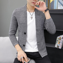 Sweater Men Homme Winter Korean Fashion Autumn Cardigan Casual 3XL-M Pull Slim-Fit Streetwear-Knitted