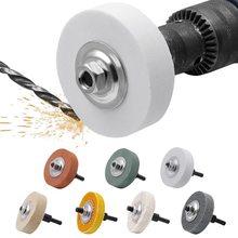 3 zoll Schleifen Rad Polieren Pad Schleif Scheibe Für Metall Grinder Dreh Werkzeug Aluminium Oxid Silizium Hartmetall Faser Korund