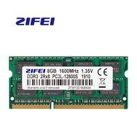 ZiFei ram DDR3 DDR3L 4GB 8GB 1866MHz 1600MHz 1333MHz 204Pin 1,35 V SO-DIMM módulo portátil de memoria para computadora portátil