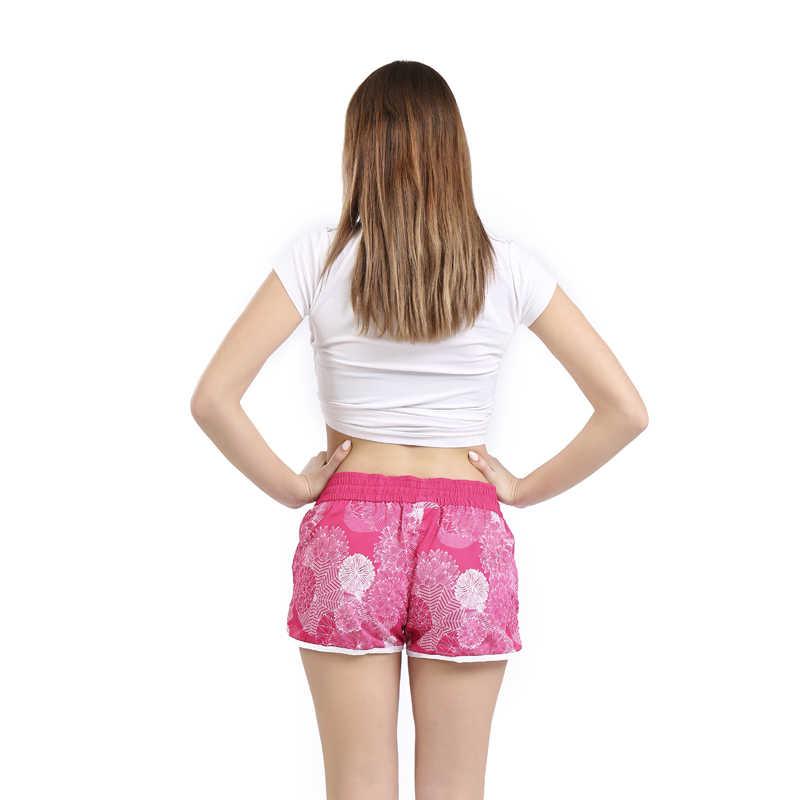 SAENSHING, новинка, хит, женские пляжные шорты для серфинга, Шорты для плавания, дышащие, спортивные, розовые, летние шорты