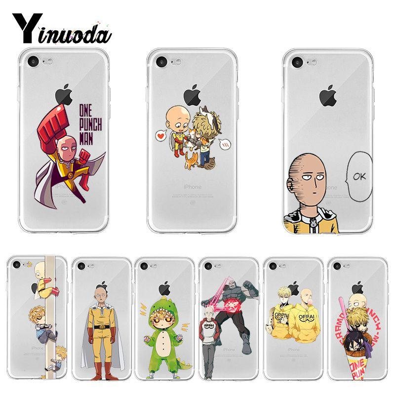 One Punch Man Saitama x Genos iphone case