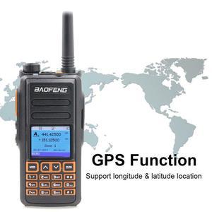 Image 4 - החדש BaoFeng DM 760 עם GPS פונקצית Dual Band 136 174 & 400 470mhz DMR דיגיטלי רדיו Tier 1 & 2 כפולה זמן חריץ ווקי טוקי