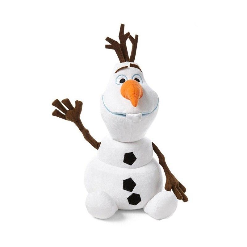 Películas calientes de Mickey Frozen 30cm 50cm Olaf peluche kawaii muñeco de nieve de dibujos animados lindos animales de peluche muñecos, Juguetes brinquedos Juguetes