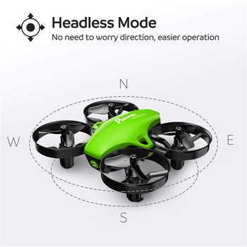 Potensic A20 Mini Drone for Kids Beginners Easy to Fly Headless Mode RC Helicopter Quadcopter Remote Control With 3 Batteries 4