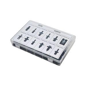 Image 4 - 車のクリップ自動車のプッシュピンリベットトリムクリップパネルボディインテリア詰め合わせセット HE09 アウディ bmw ベンツフォードボルボ