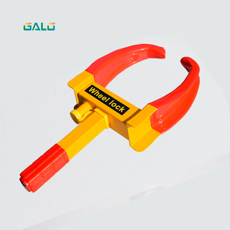 AUTO SECURITY Parking Car Wheel Lock /Car Anti-theft Lock/Illegal Parking Management Tool (9 Holes)