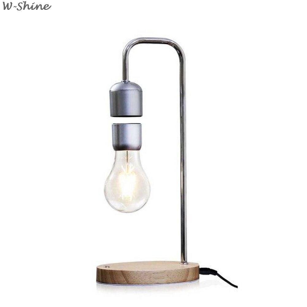 Магнитная левитационная лампа, креативная плавающая лампа для подарка на день рождения, магнитный левитирующий светильник для комнаты, укр
