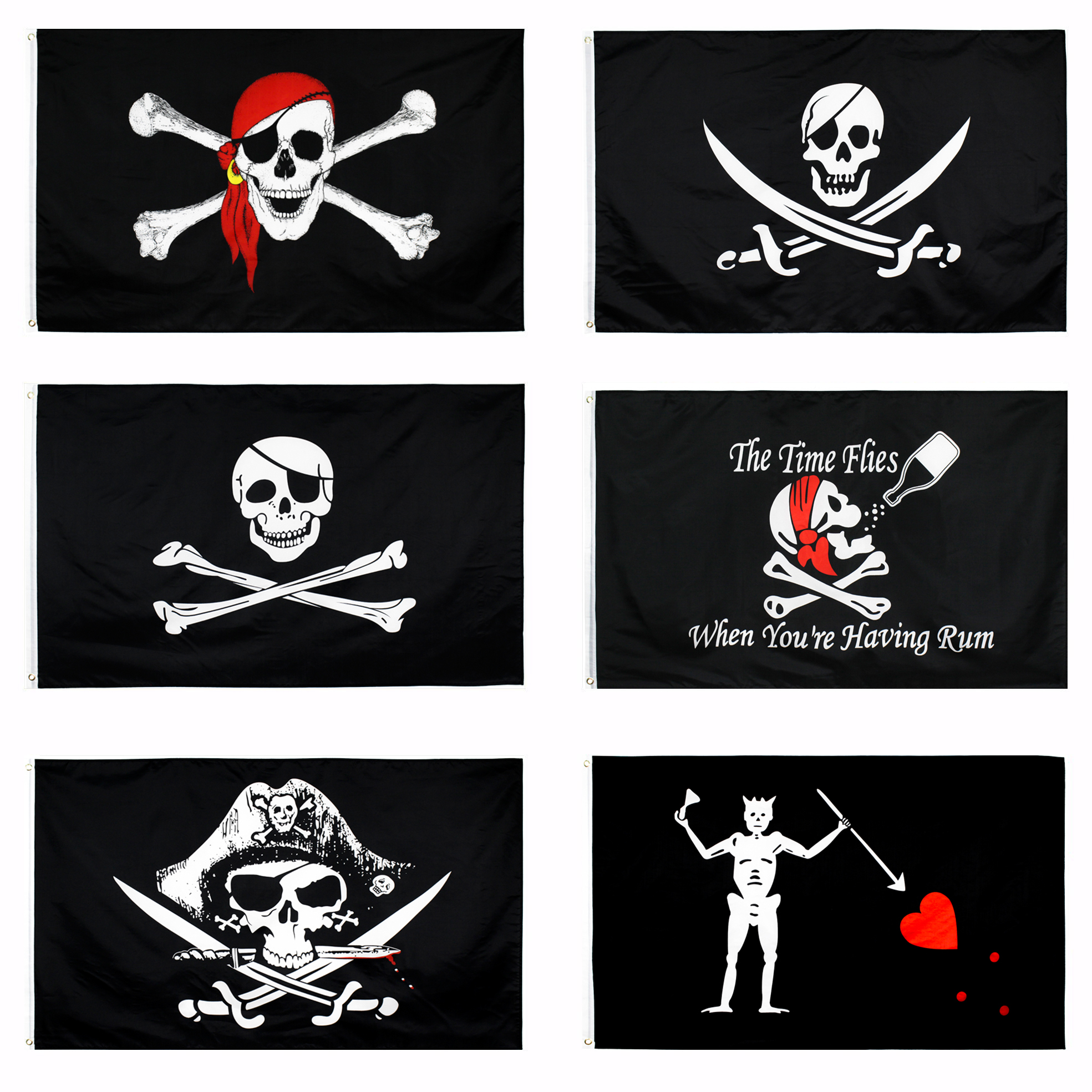 Yehoy hangiing 90x150 см в виде черепа и скрещенных костей сабли, мечи пират Веселый Роджер сундук мертвеца флаги
