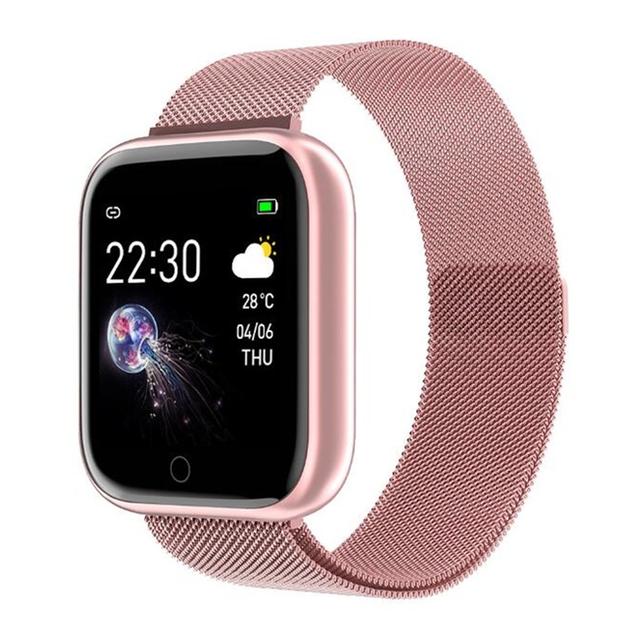 Reloj Inteligente de Fitness con Pantalla Cuadrada