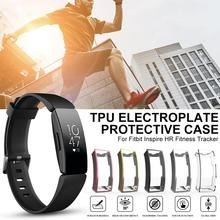 1pcs TPU Protector Case Cover For Fitbit Inspire HR Fitness Tracker Ultra-thin Soft Clear Protection Skin
