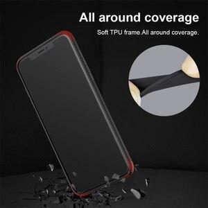 Image 5 - الزجاج المقسى حقيبة لهاتف أي فون iPhone XS Max ماكس X XS XR Nillkin الفاخرة دريم لاند تألق حامي الغطاء الخلفي ل فون XS ماكس حالة