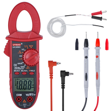 Clamp Meter Profsional Auto-ranging TRMS 6000 Counts Multimeter Digital Voltage Tester Temperature Capacitance Diodes Continuity