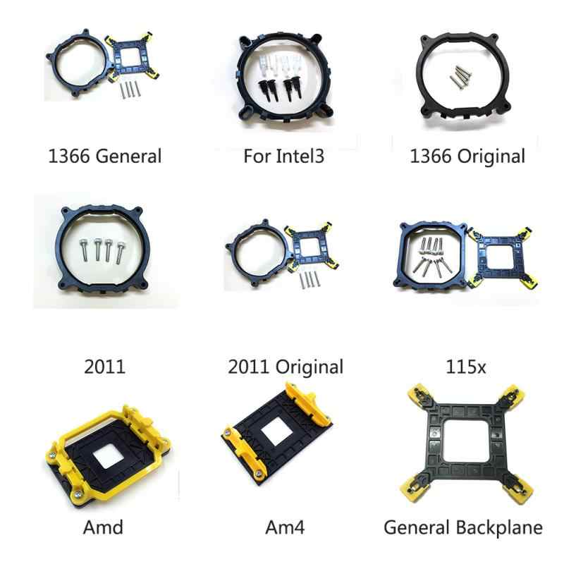 Kipas Pendingin CPU Bracket Heatsink Pemegang Base untuk Inter LGA 775 1150 1151 1155 1156 1366 2011 AMD AM4 Umum backplane