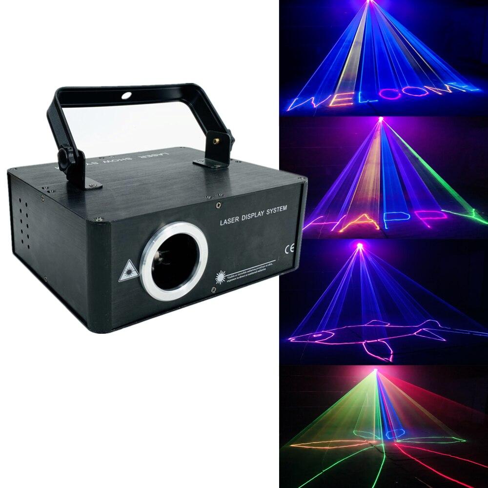 1800mW rgb 3w1 laser 64 mieszanie kolorów kolorowy projektor animacji 2w 3D światło sceniczne laserowe światła dj-skie dmx światło wiązki