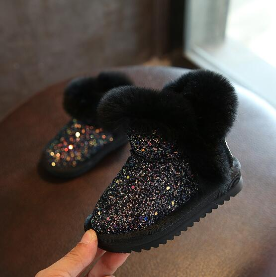 Bling Sequin Snow Warm Boots 3