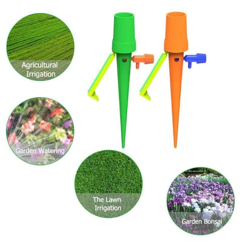 自動点滴灌漑システム自動水まきスパイク植物フラワー屋内家庭用給水器ボトルドロップシッピング