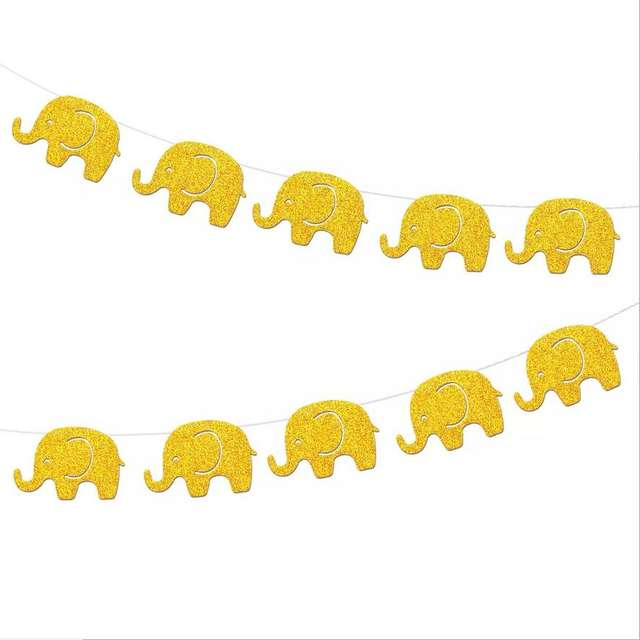Elephant Shaped Garland for Wall Decoration