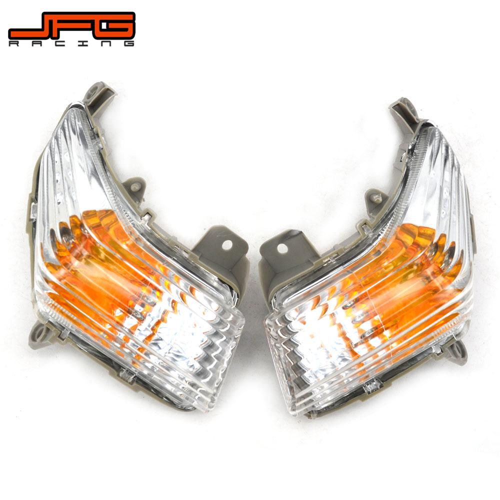 Motorcycle Clear Front Turn Signals Indicator Blinker Lens Cover For SUZUKI GSR400 GSR600 2006 2007 2008 2009 2010 2011 2012