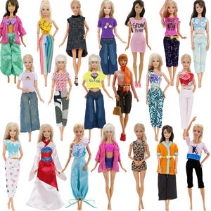 Shirt Jacket Barbie-Doll WHOLESALE Blouse Vest Outfit Girl Mix Cloth for Top-Pants Lady