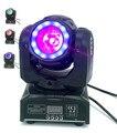 DJ светильник ing mini moving head светодиодный 60 Вт Луч сценический светодиодный светильник с 12 Светодиодный SMD5050 RGB супер яркий светодиодный стробо...