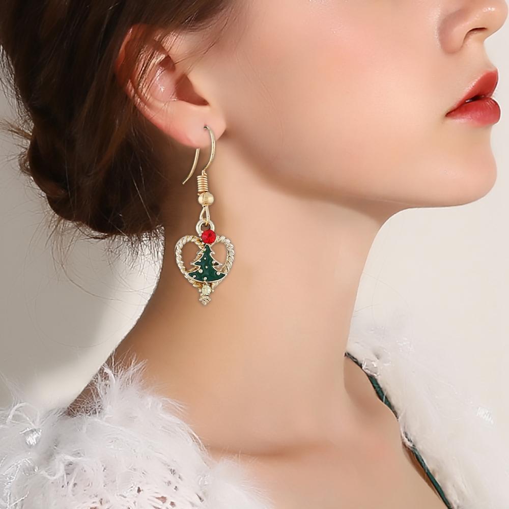 Women's Snowflake Shaped Christmas Earrings Earrings Jewelry Women Jewelry