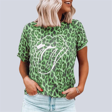 Leopard T-shirt Women Short Sleeve 2020 New Fashion Tops Tee Shirts Women Clothes Summer T Shirt Casual Female Tops Tee