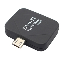 Hot!! Micro Usb Dvb T2 Dvb T Di Động Mã Truyền Hình Đầu Thu Kỹ Thuật Số Dành Cho Điện Thoại Android Miếng Lót Xem Truyền Hình Trực Tiếp Micro  Usb bắt Sóng