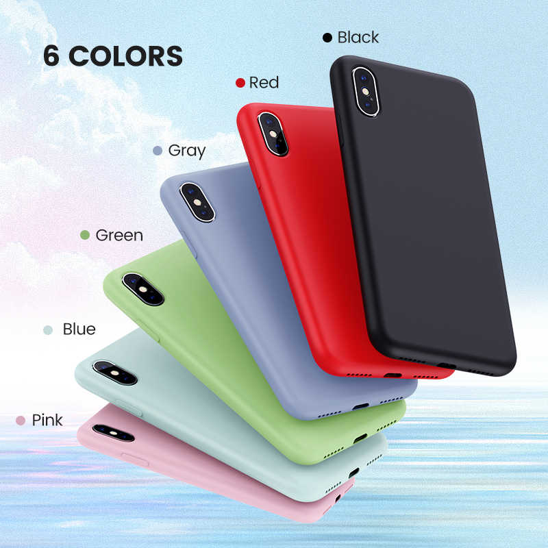 Чехол Ugreen для iPhone 7 8 X XS XR, черный, синий, серый силиконовый чехол для Apple iPhone 7 8 X XS, чехол для iPhone 7