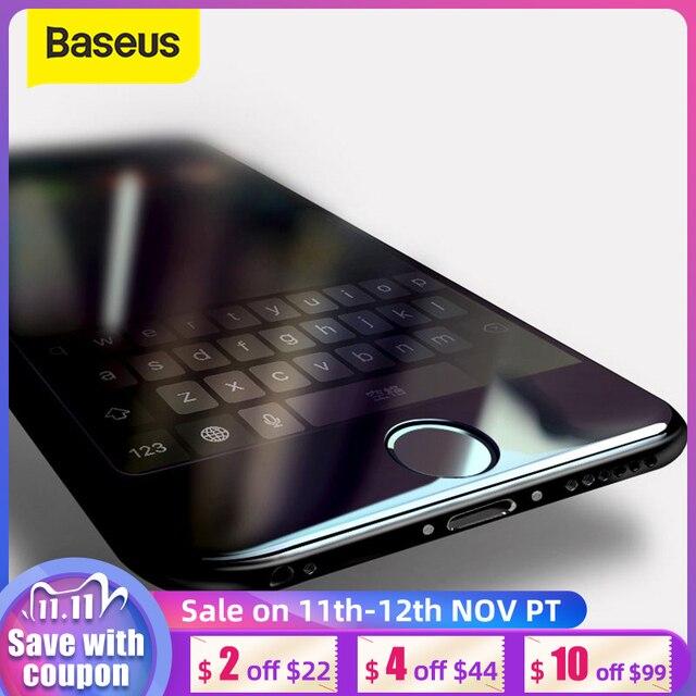 Baseus Per iPhone 8 7 Protezione Dello Schermo Ultra Sottile 9 H Antigraffio In Vetro Temperato Per il iphone 7 Plus 8 più il Vetro di Protezione