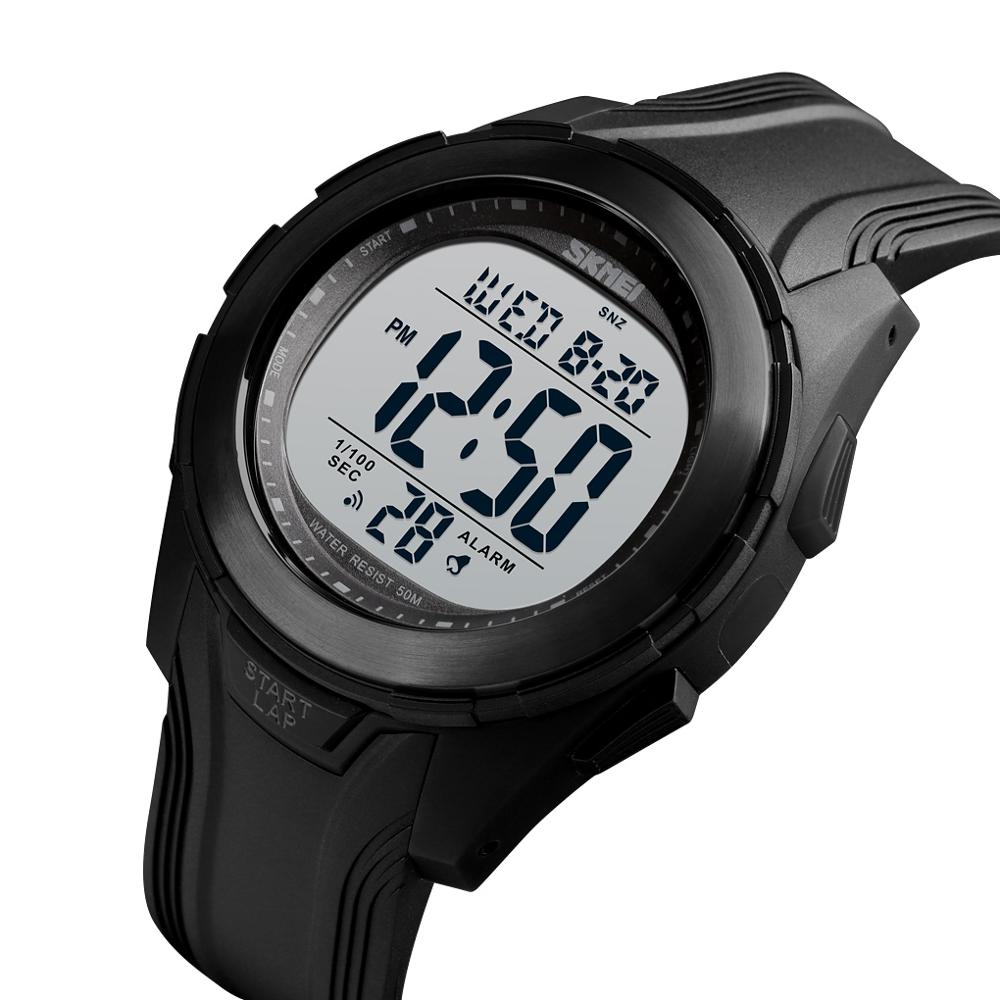 <font><b>SKMEI</b></font> Fashion Watch Men 50M Waterproof Multifunction Digital Watch Alarm Clock Stainless Steel Case Watches relogio digital <font><b>1503</b></font> image